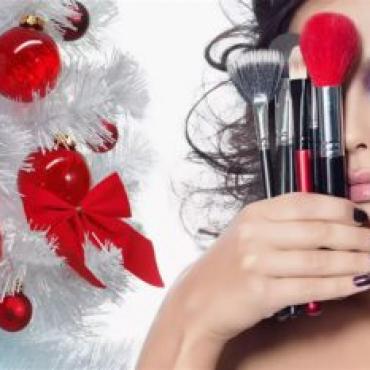 МАСТЕР-КЛАСС «САМ СЕБЕ ВИЗАЖИСТ», образ для новогоднего праздника.